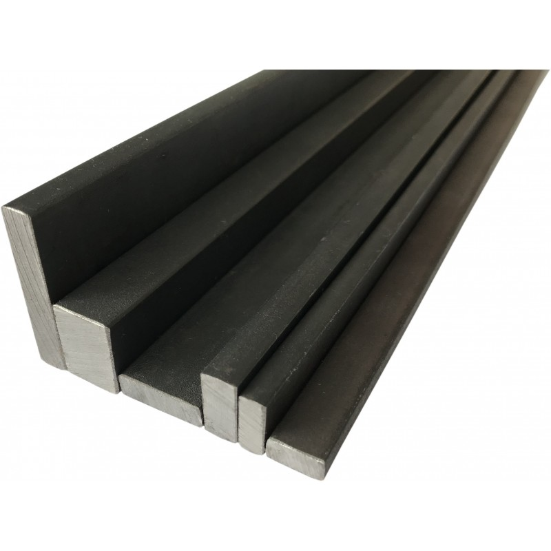 barre rectangulaire en acier plein 12x6 40x8mm. Black Bedroom Furniture Sets. Home Design Ideas